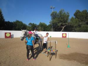 Terapias Asistidas con Caballos para niños con APTC